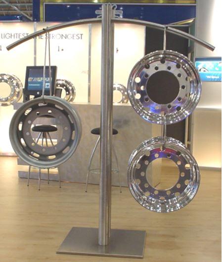 Krysgum Kute Aluminiowe Felgi Alcoa Felgi Ciężarowe Felgi